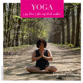 Yoga Flyer Bild
